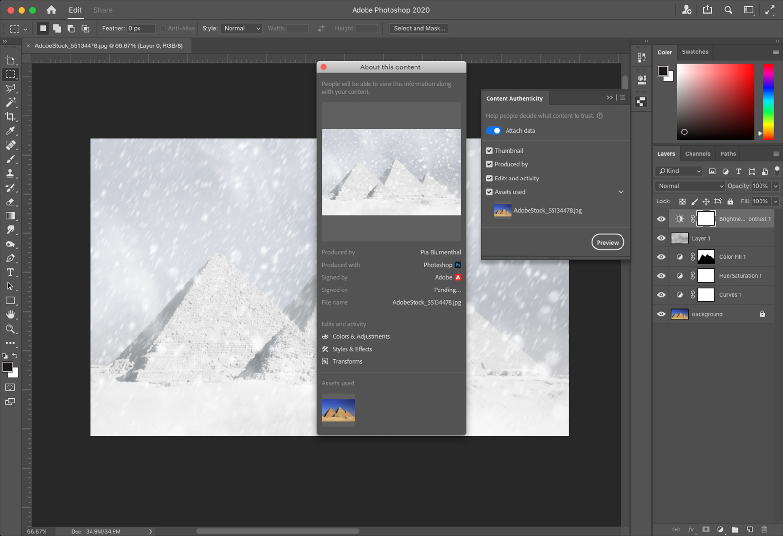New Photoshop tool could help fight fake images