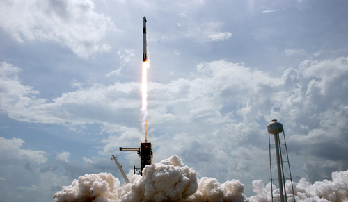 Image for SpaceX's Crew Dragon took flight in historic mission. What's next?