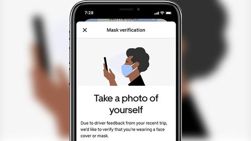 Image for Want an Uber? You may have to send a masked selfie first