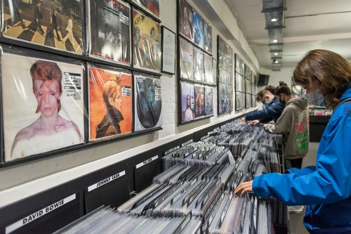 Image for Vinyl record sales surpass CDs for the first time since the 1980s