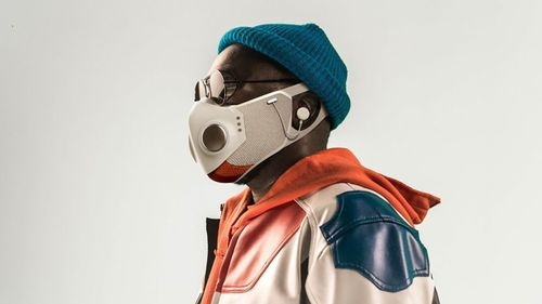Image for Rapper will.i.am is selling a smart mask for $299