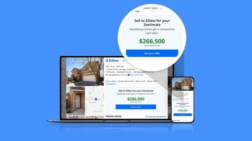 Image for Zillow will now make cash offers for homes based on its 'Zestimates'