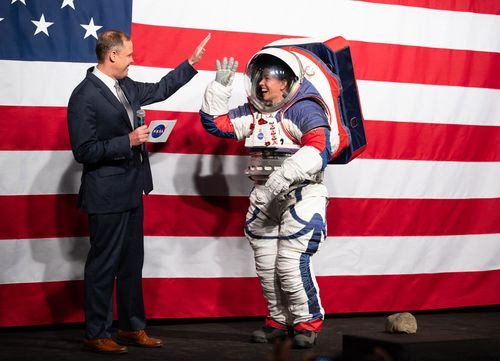Image for NASA designs new spacesuits for next lunar mission in 2024