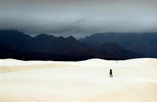 The White Sands National Monument in southern New Mexico has been officially designated as White Sands National Park.