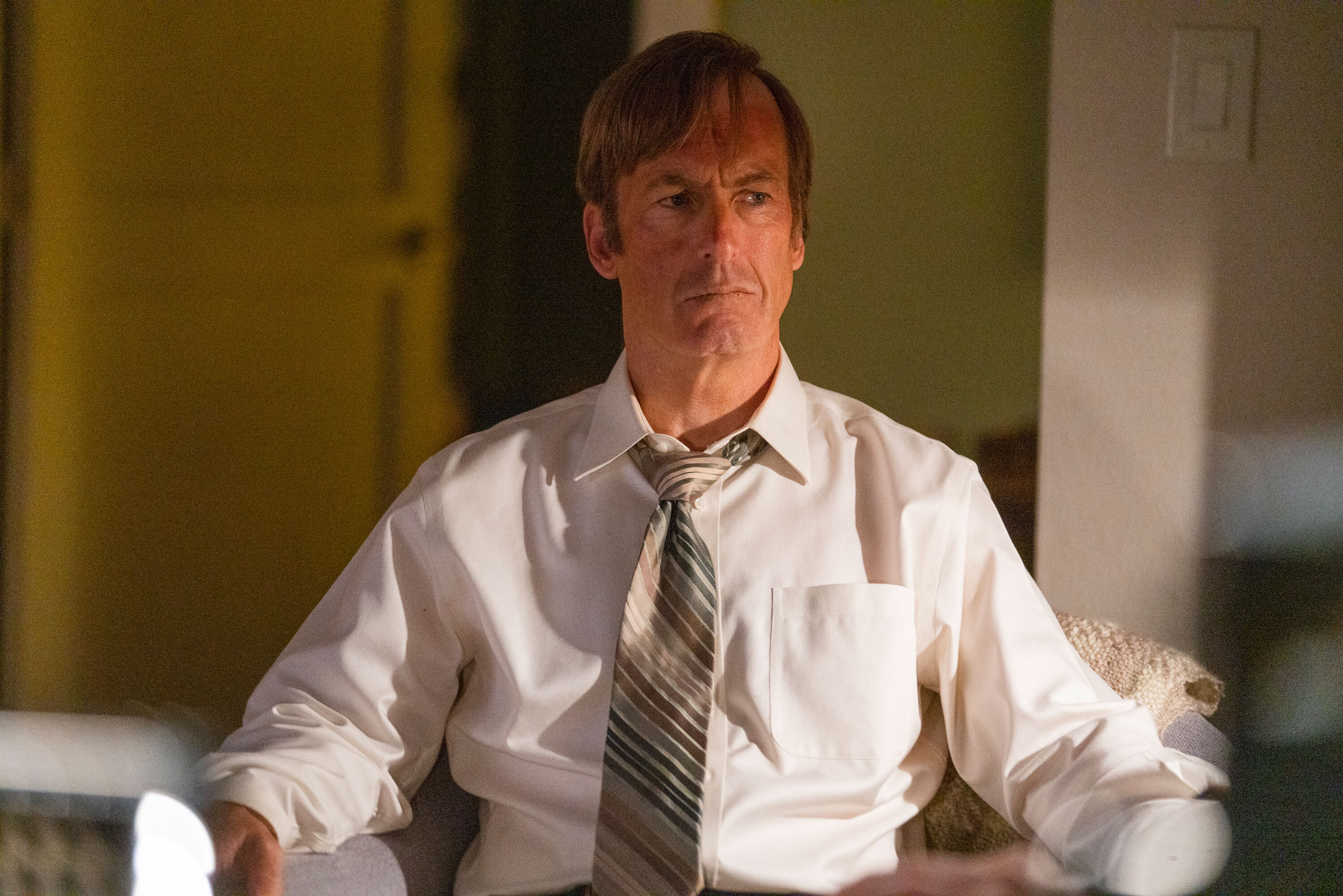 Bob Odenkirk back to work on 'Better Call Saul' after health scare