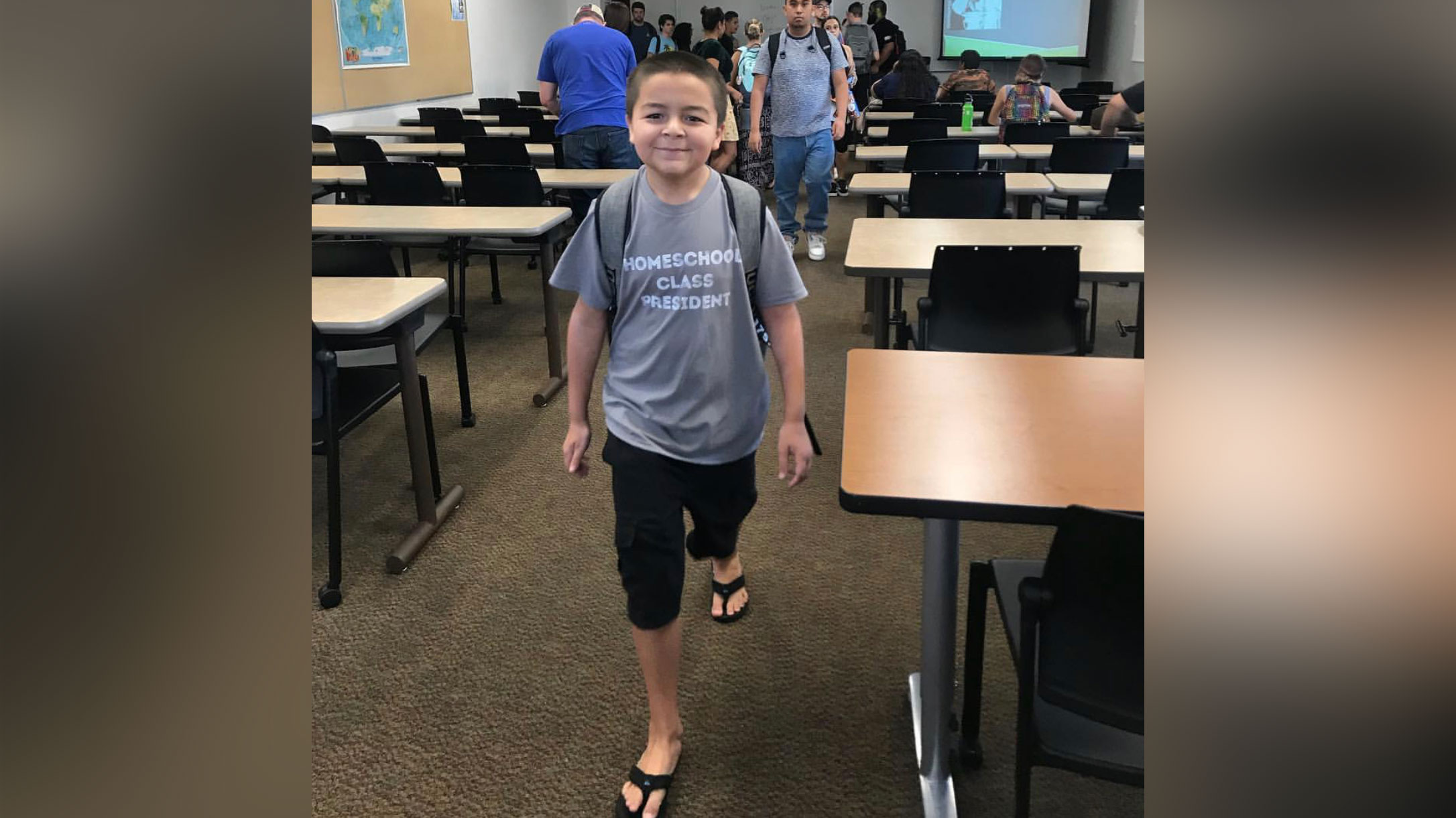 Meet the 13-year-old who graduated from college with four associate's degrees