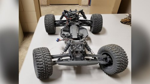 Image for A 16-year-old was arrested for using a remote-controlled car to smuggle drugs across the border, officials say