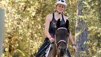 An 18-year-old woman won a 100-mile endurance race with a free horse from Craigslist