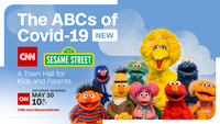 How to watch Saturday's 'The ABCs of Covid-19: A CNN/Sesame Street Town Hall for Kids and Parents'
