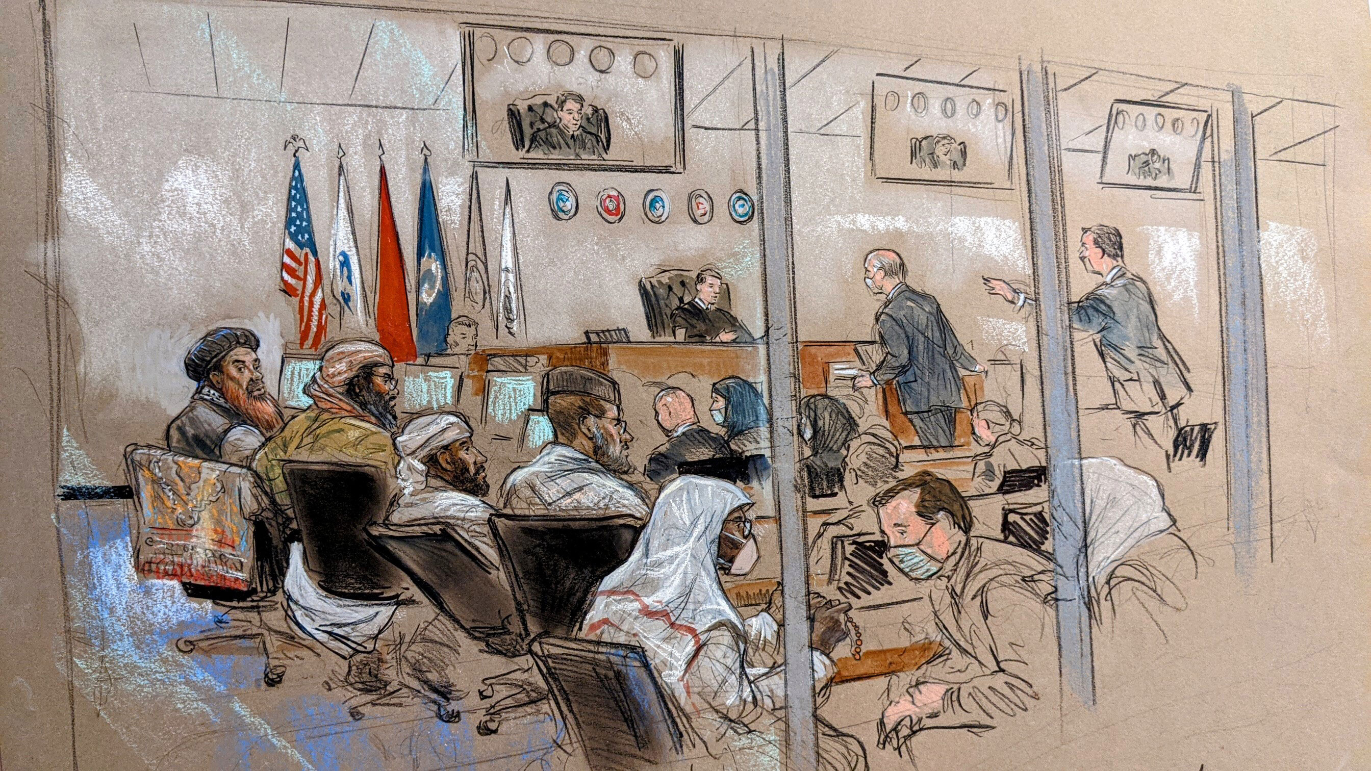 Twenty years later, case of five accused of plotting 9/11 terrorist attacks remains stalled