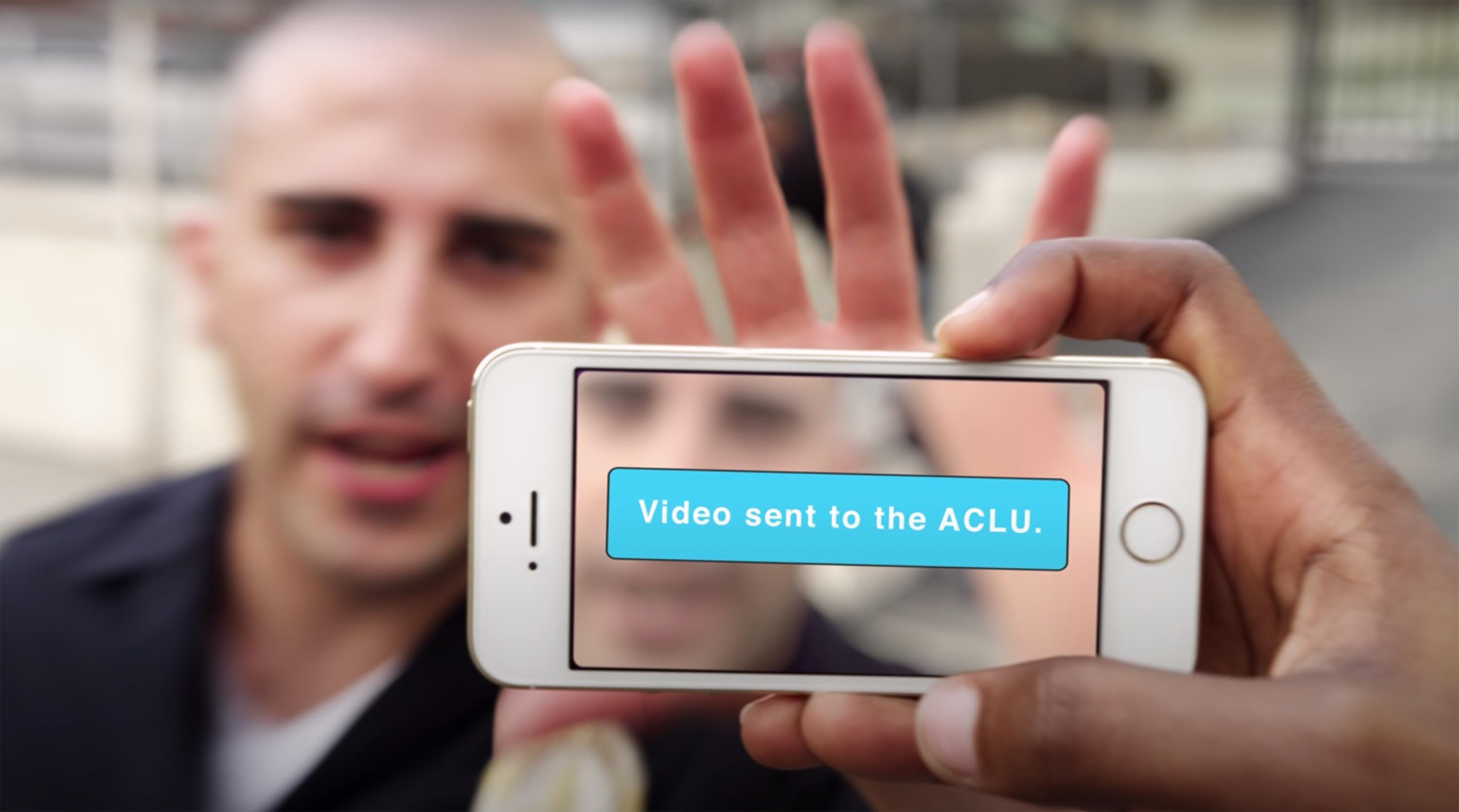 The ACLU created an app to help people record police misconduct