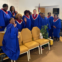 Andrew Yang sang with a black church choir. Not everyone said 'Amen'