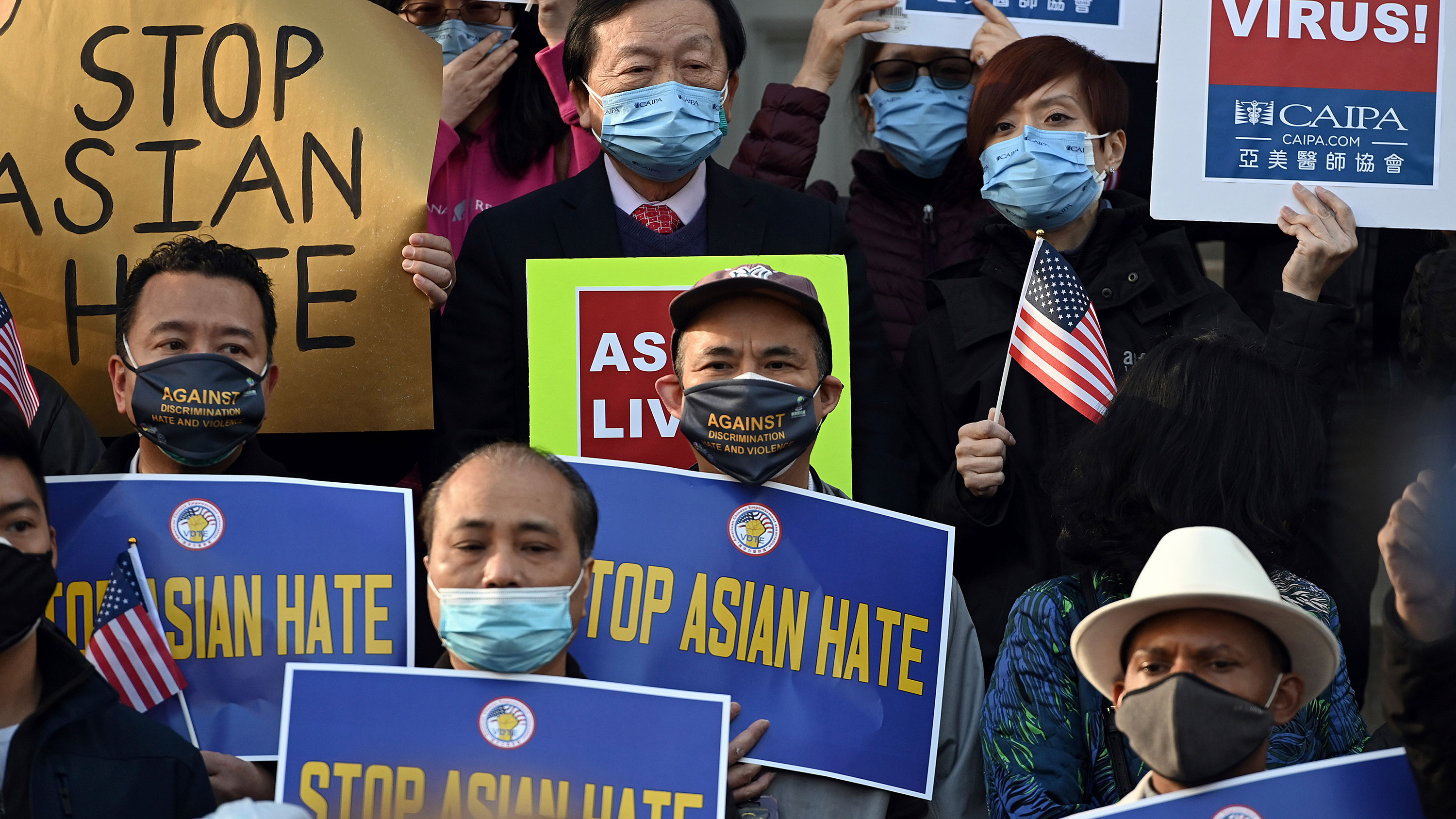 Anti-Asian hate crimes surged in early 2021, study says