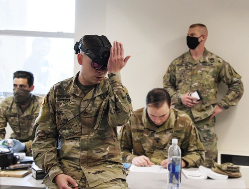 Image for US Army pushing to develop wearable sensors to detect coronavirus symptoms
