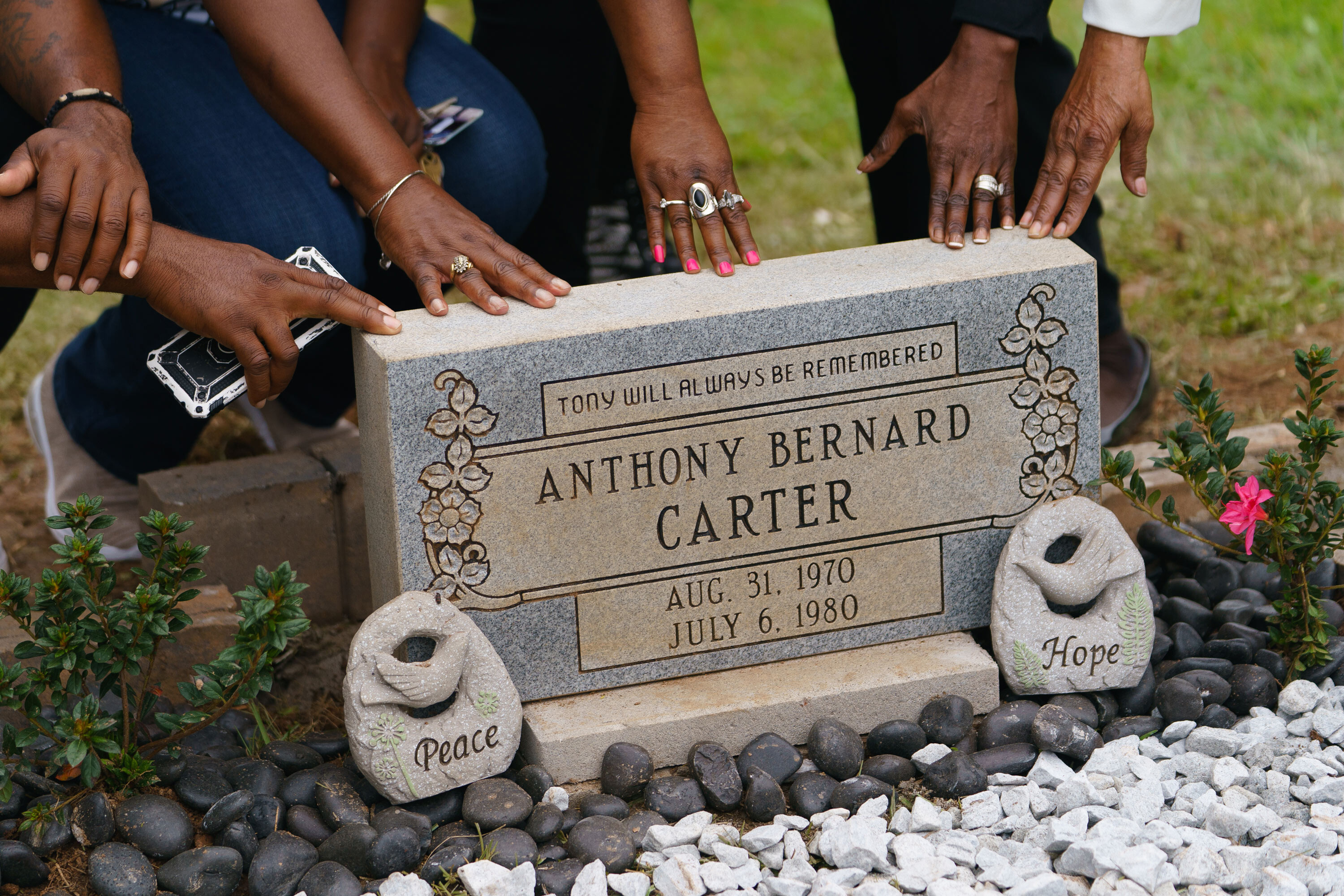 Victim of Atlanta child murders receives headstone more than 40 years after his death