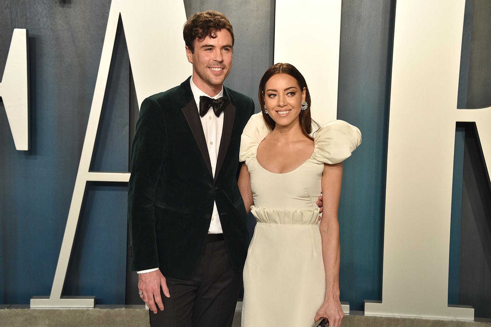 Aubrey Plaza has married her longtime boyfriend, director Jeff Baena