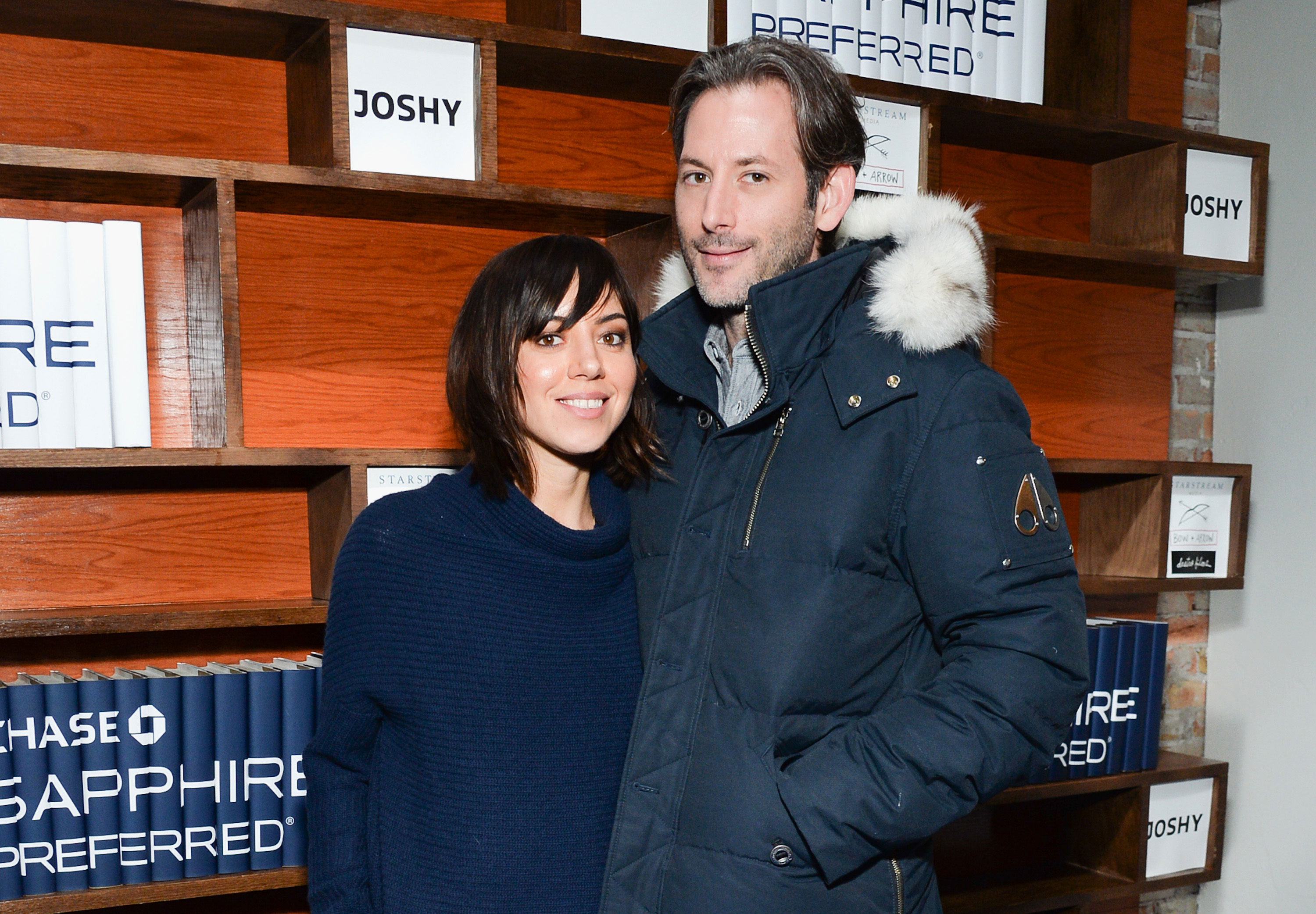 Aubrey Plaza has married her longtime boyfriend, director Jeff Baena