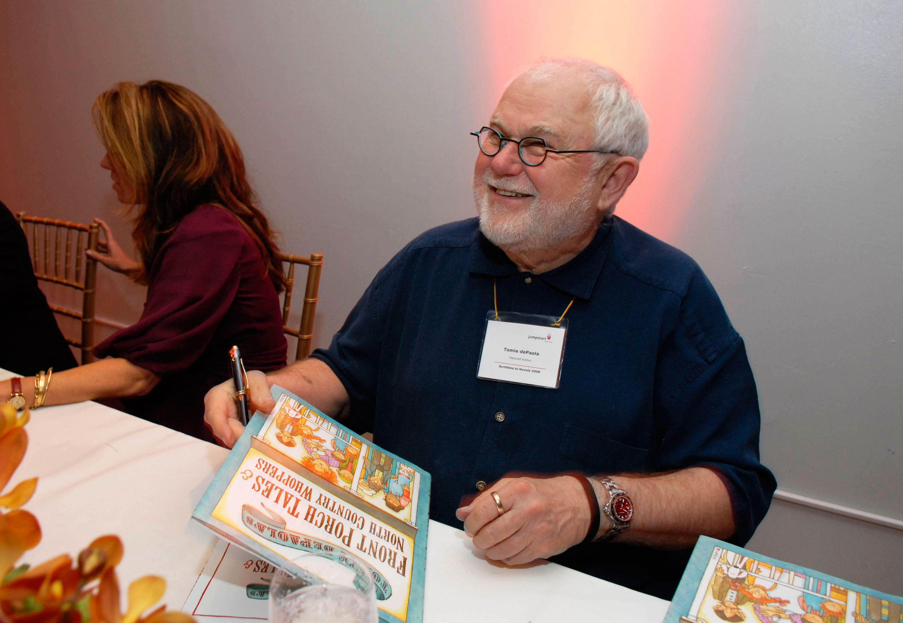 Children's author and illustrator Tomie dePaola has died