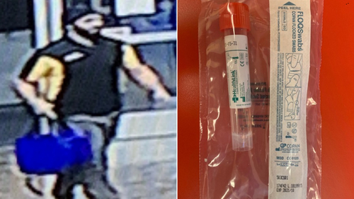 Image for Police in Arizona are searching for a man who allegedly stole 29 coronavirus test kits