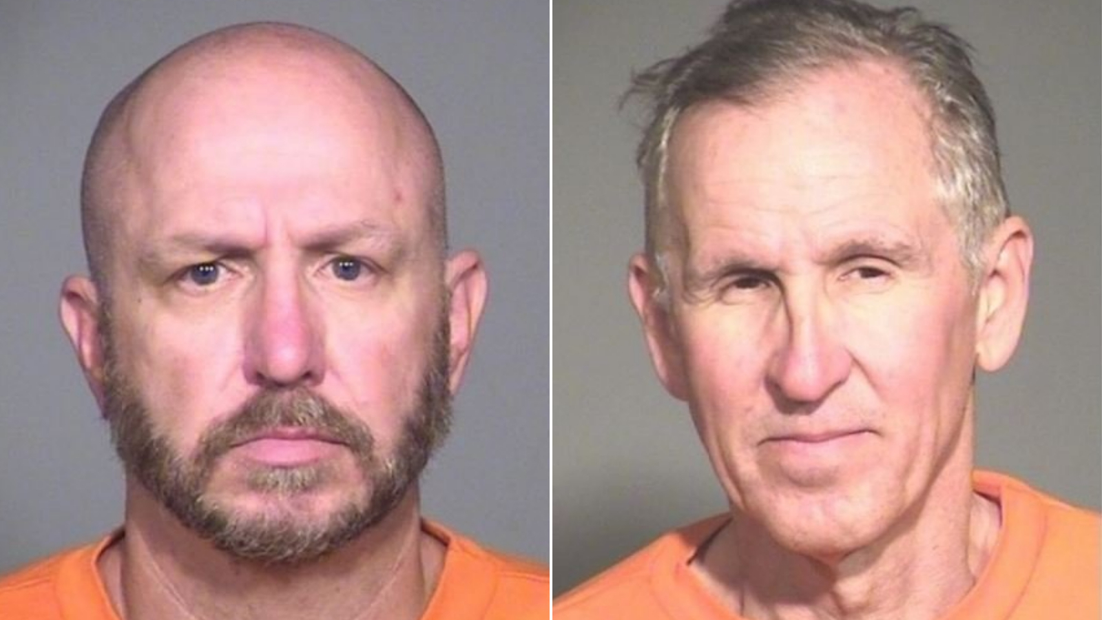 Arizona law enforcement agents are searching for two escaped inmates facing dozens of years in prison