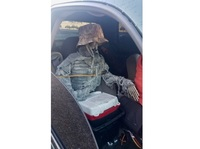 An Arizona driver thought his skeleton passenger meant he could drive in the HOV lane. He was wrong