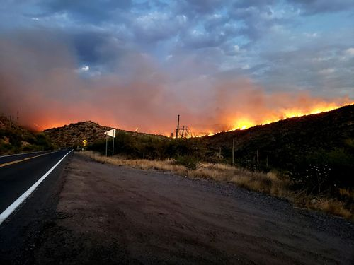 Image for Fire restrictions are tightened on federally controlled land in Arizona due to ongoing wildfire danger