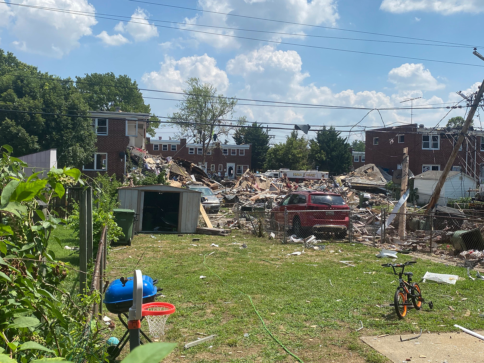 Cause of Monday's Baltimore gas explosion that killed two people still unclear, but local gas company says it's not to blame