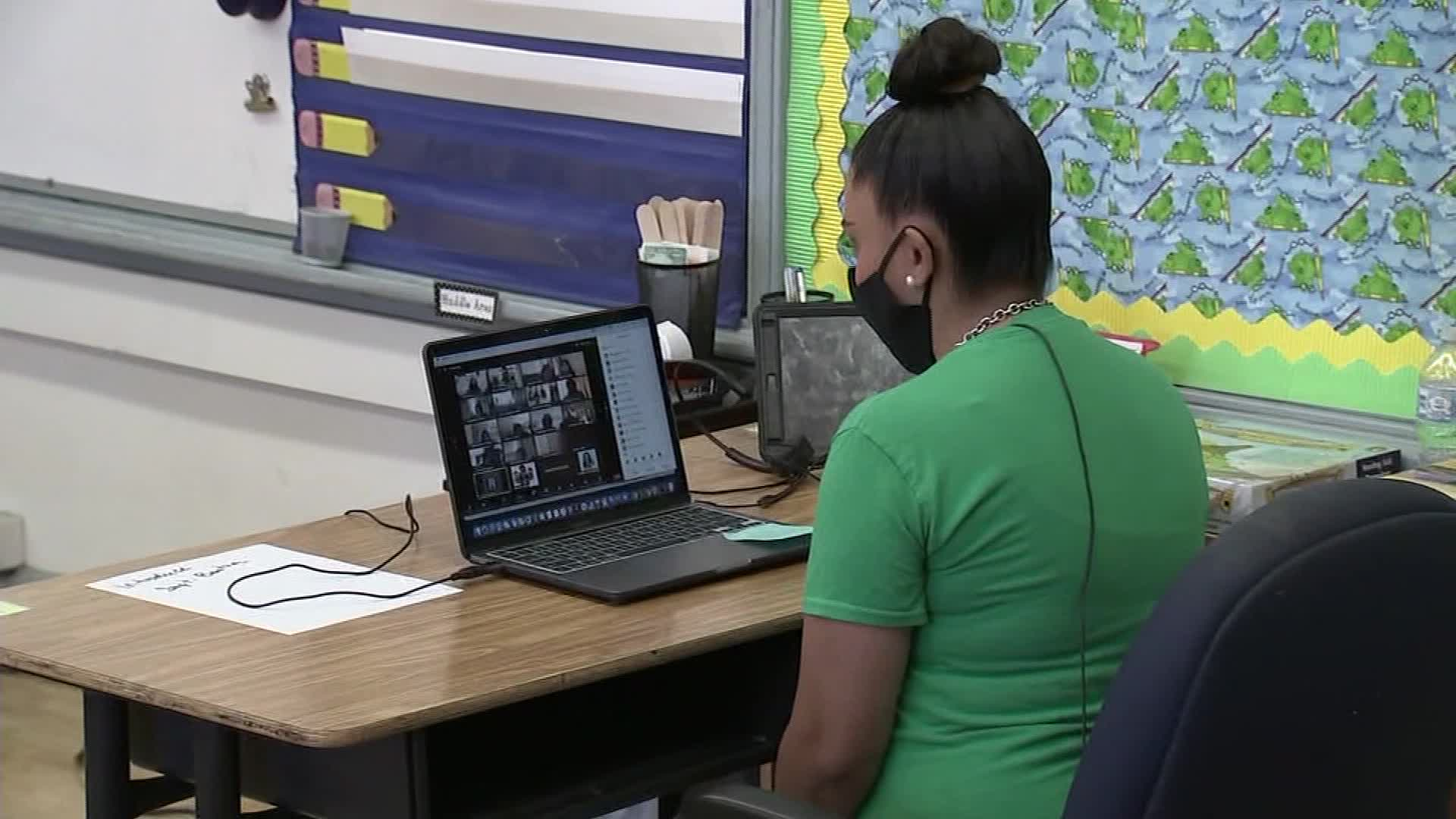 Baltimore educators are tracking down students to fight low virtual attendance