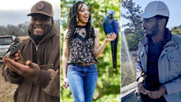 These Black nature lovers are busting stereotypes, one cool bird at a time
