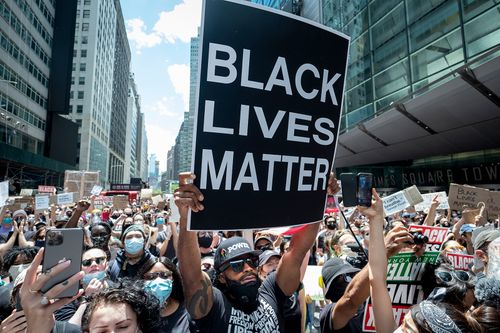 Image for The Black Lives Matter foundation raised $90 million in 2020, and gave almost a quarter of it to local chapters and organizations