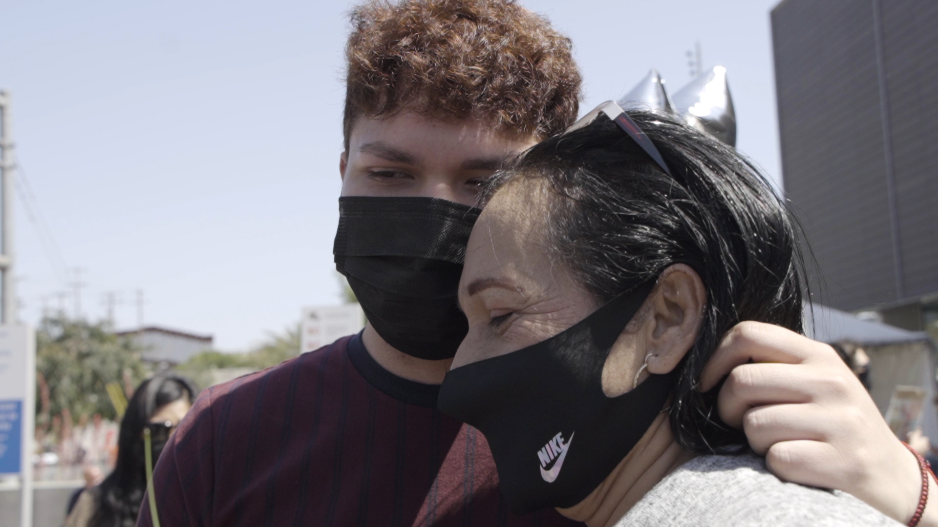 A mom and son sobbed as they reunited at the border after 3 years apart