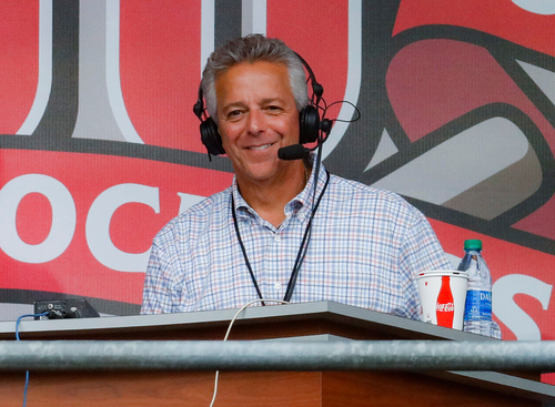Image for Cincinnati Reds suspend broadcaster Thom Brennaman after he uttered anti-gay slur on air