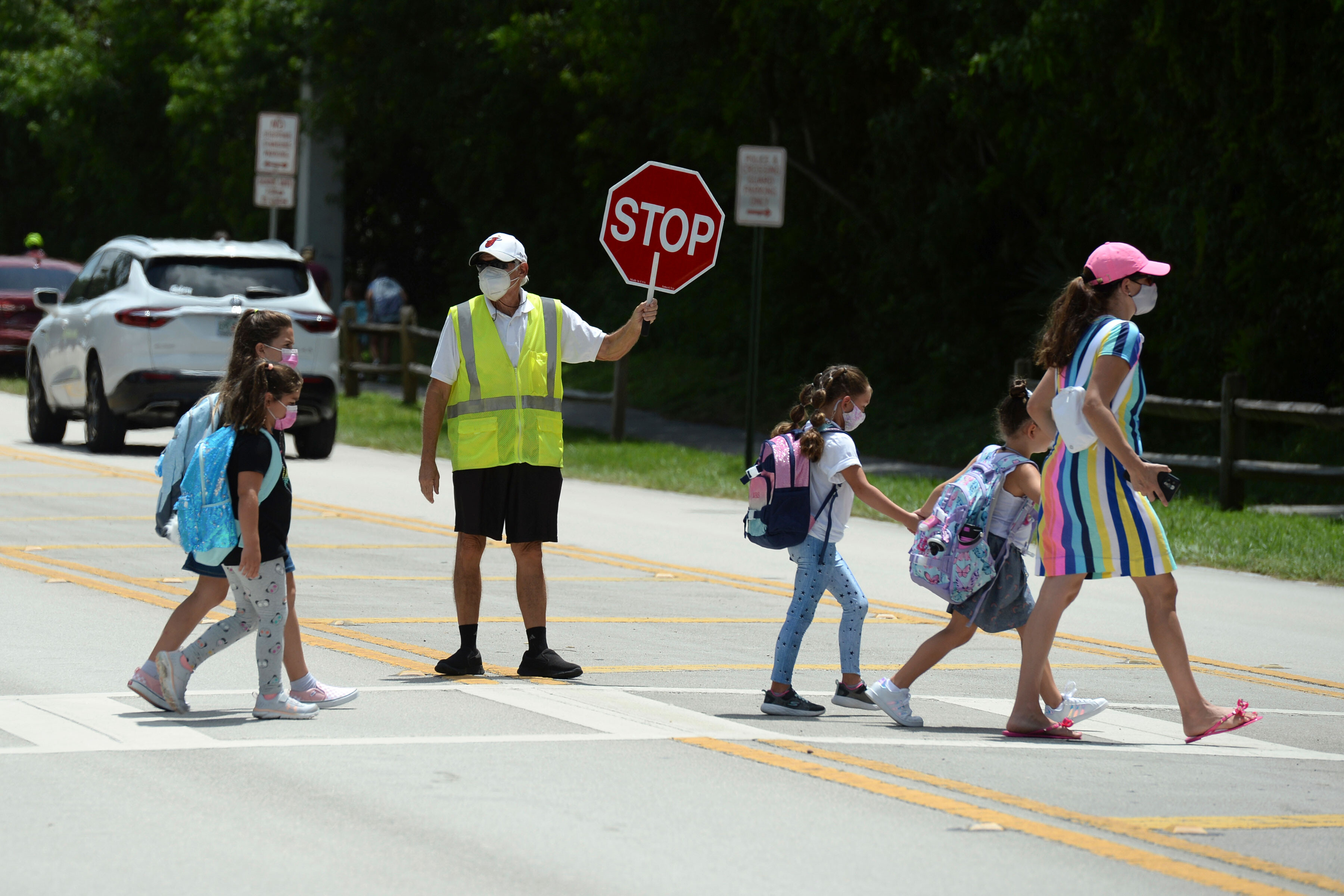 Two Florida counties double down on school mask mandates, defying governor's order