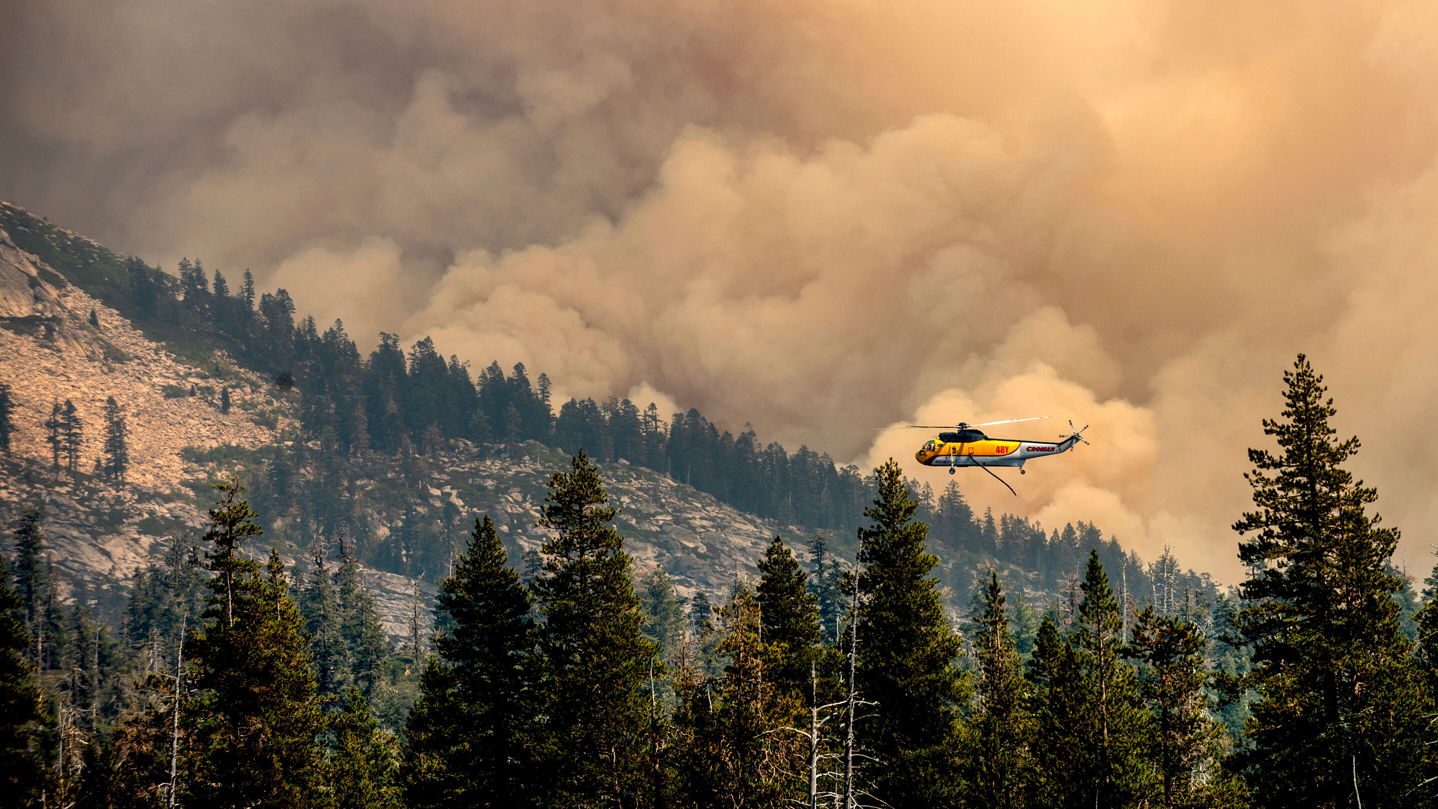 Caldor Fire near Lake Tahoe now under better control, Cal Fire says