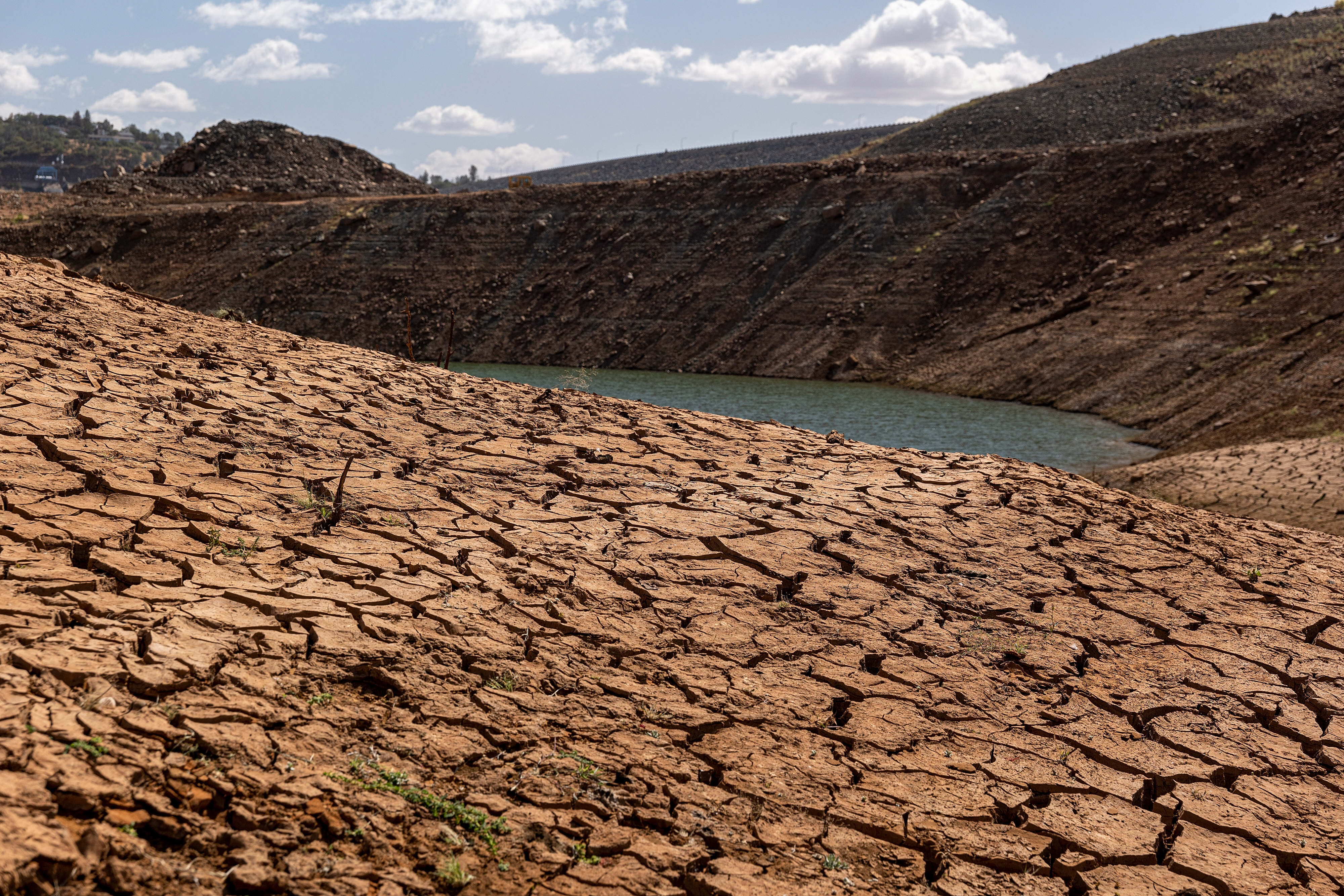 The drought in California this summer was the worst on record