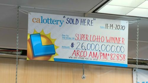 Image for A $26 million California lottery jackpot goes unclaimed. Winning ticket may have been washed with laundry
