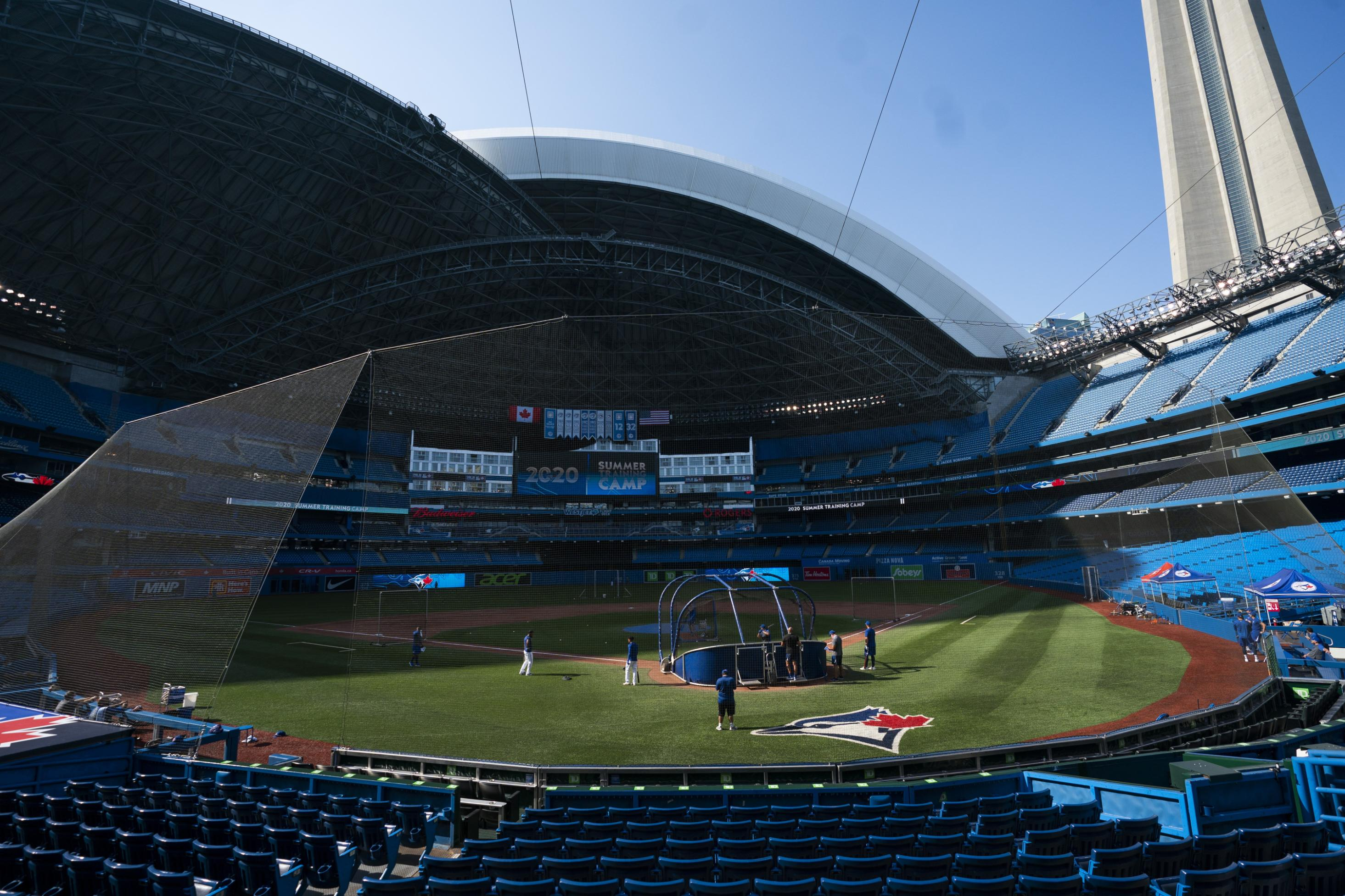 Toronto Blue Jays might have to play home games in New York or Florida