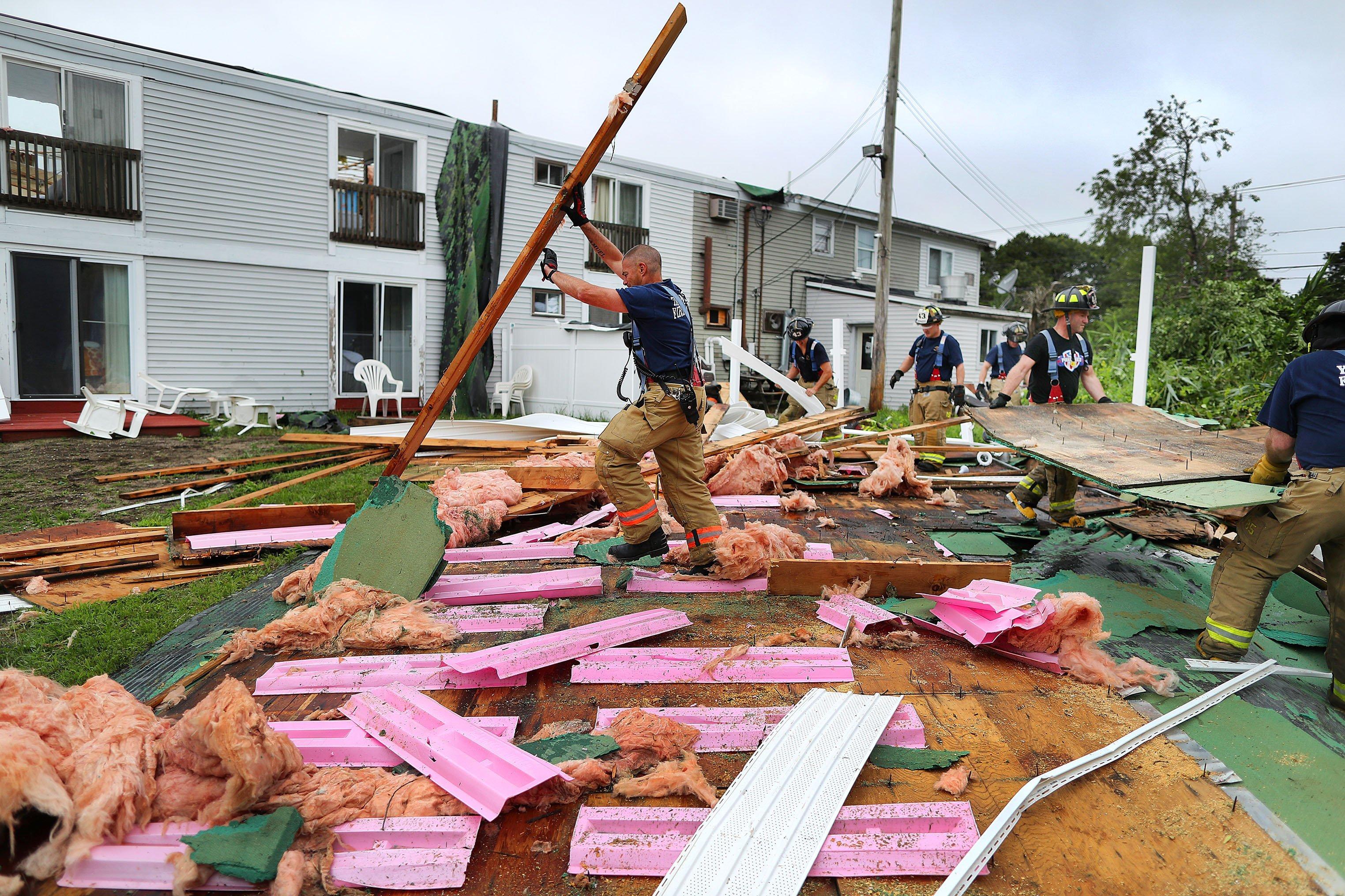 Cape Cod hit by rare tornado