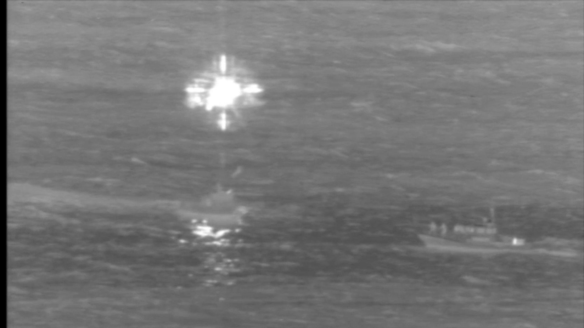 A Boeing 737 cargo plane makes emergency landing in the water near Honolulu