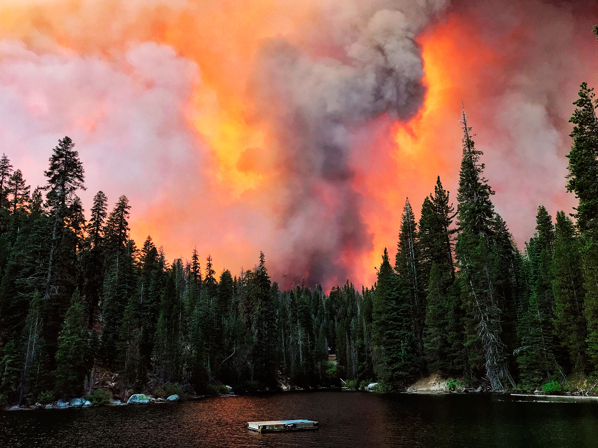 California's largest single wildfire spawned two massive firenados — one was an EF2