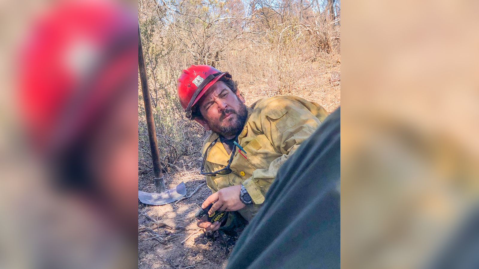 Authorities identify firefighter who died battling a blaze sparked by gender reveal party