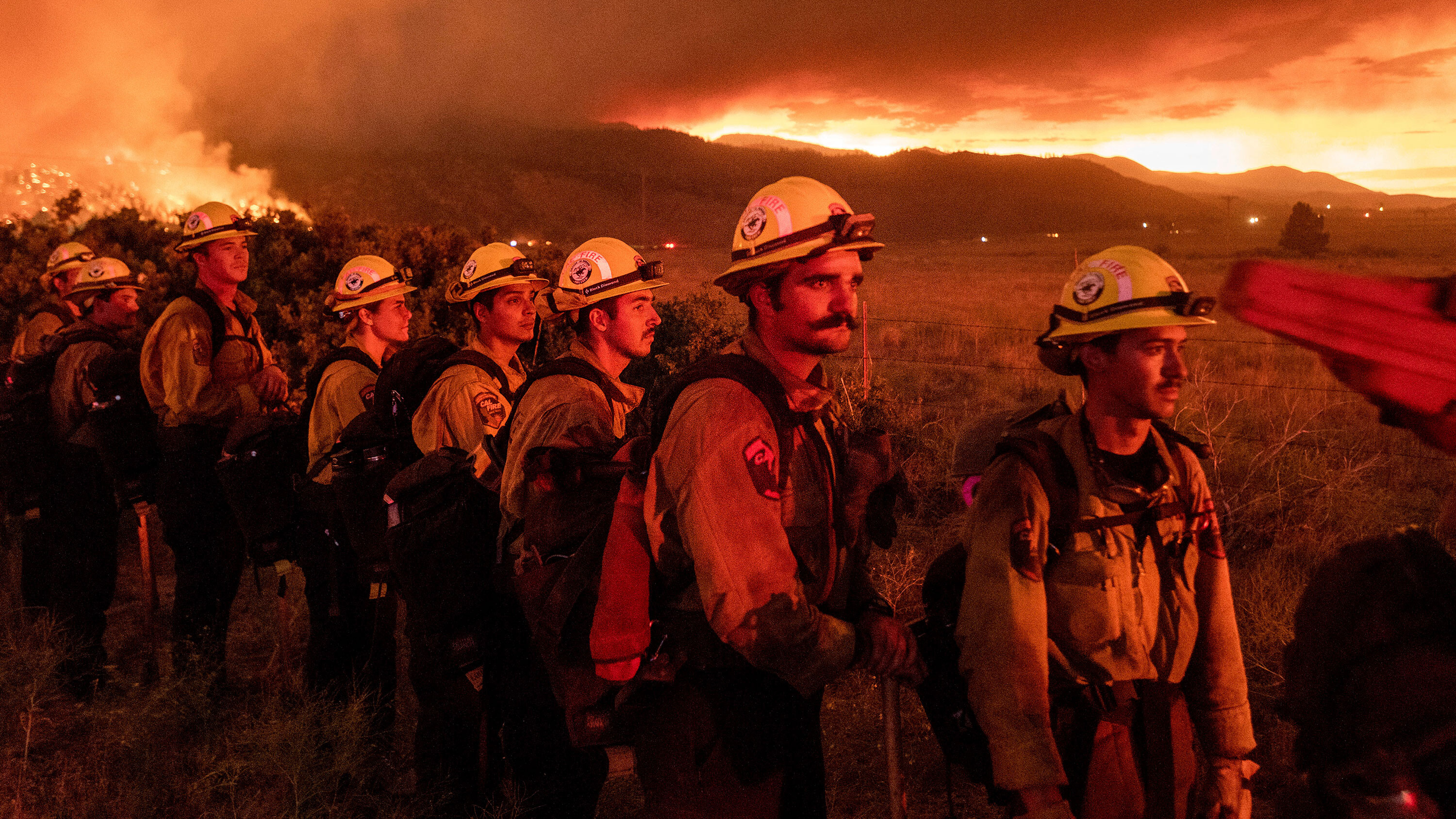 This California firefighter has been on the job 25 years. He's seen firsthand how wildfires have worsened