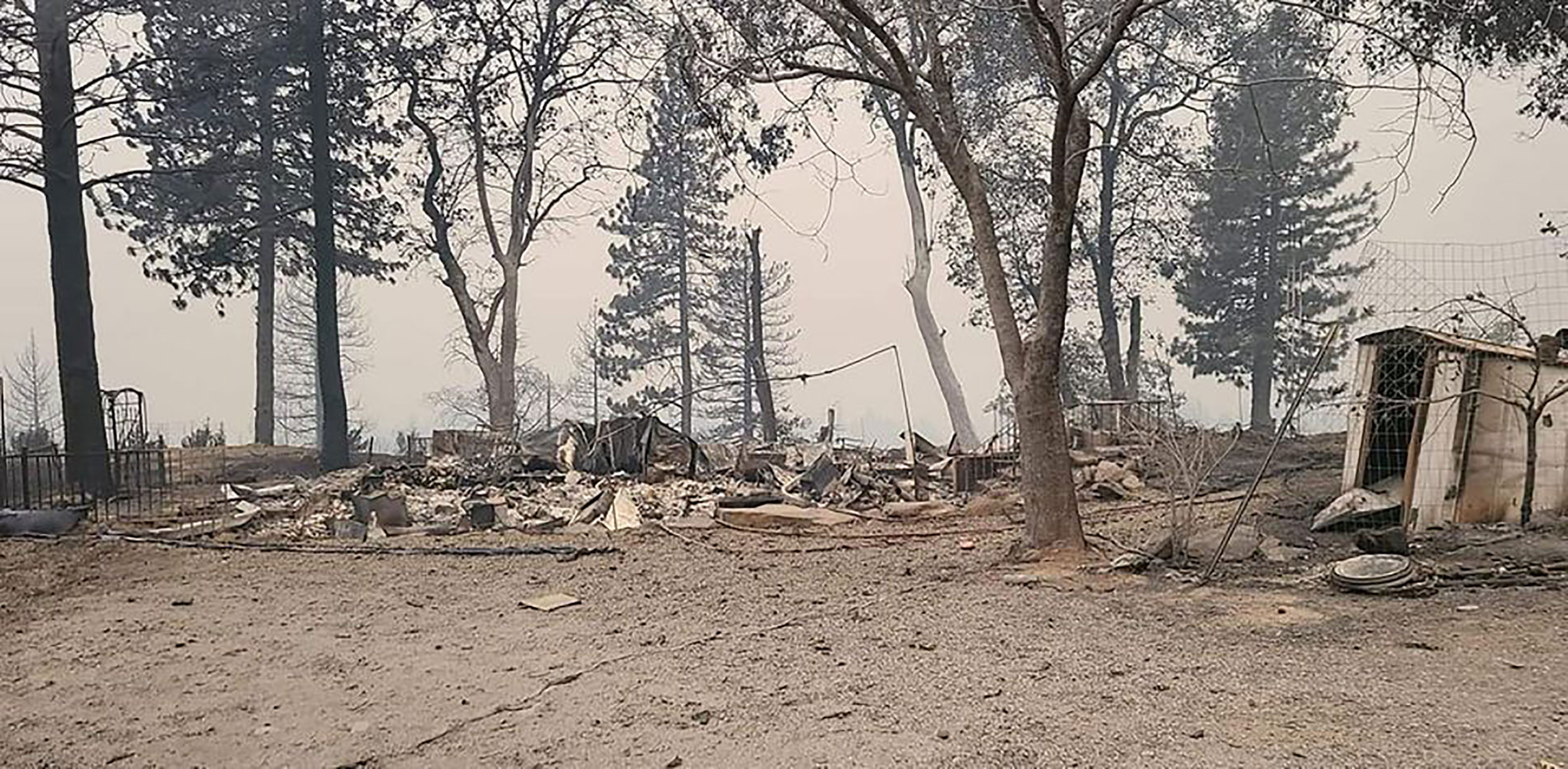 Couple loses almost everything in California wildfire