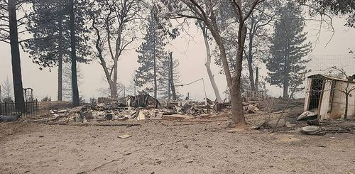 Image for Couple loses almost everything in California wildfire