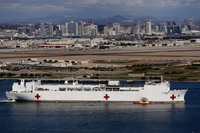 They used to be oil tankers. Now they're hospital ships deployed to help during the coronavirus pandemic