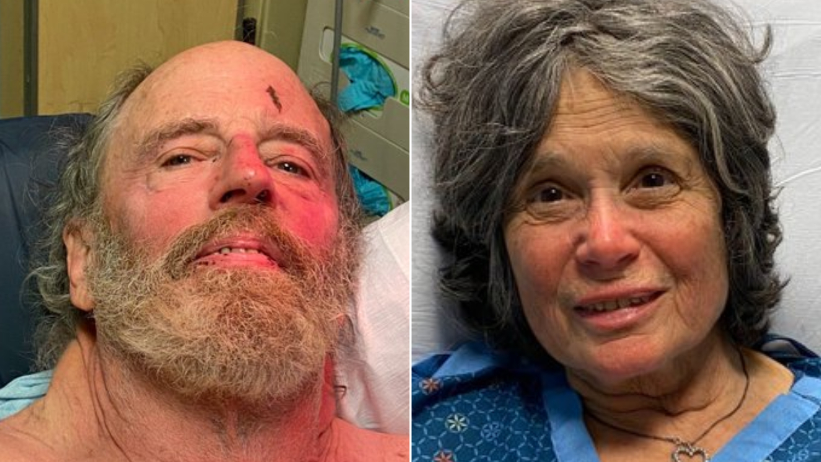 Two hikers in their 70s got lost in dense forest on Valentine's Day. On Saturday, rescuers found them alive