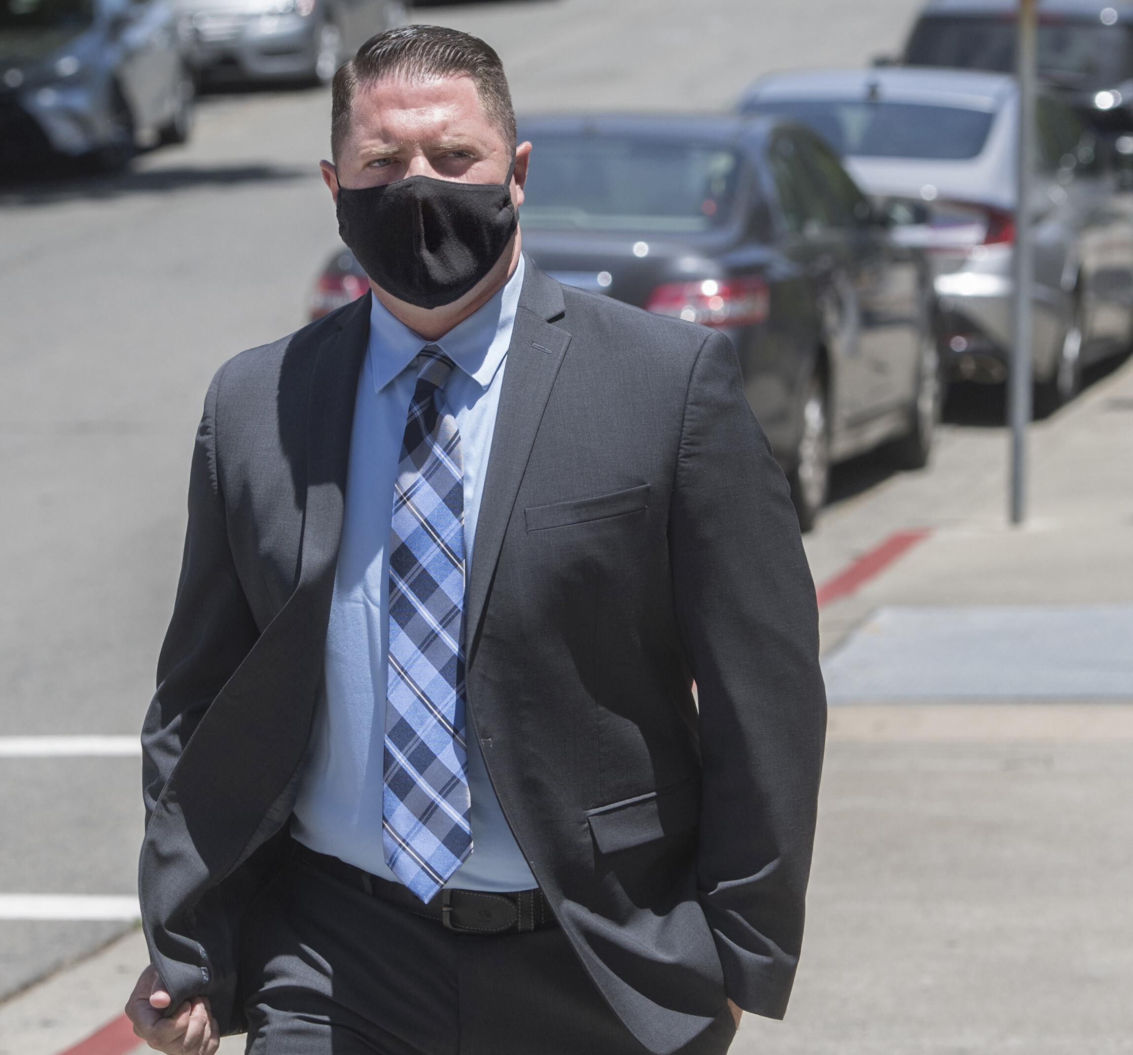 California police officer convicted of firearm assault in 2018 death of a Black man, but jury deadlocked on manslaughter charge