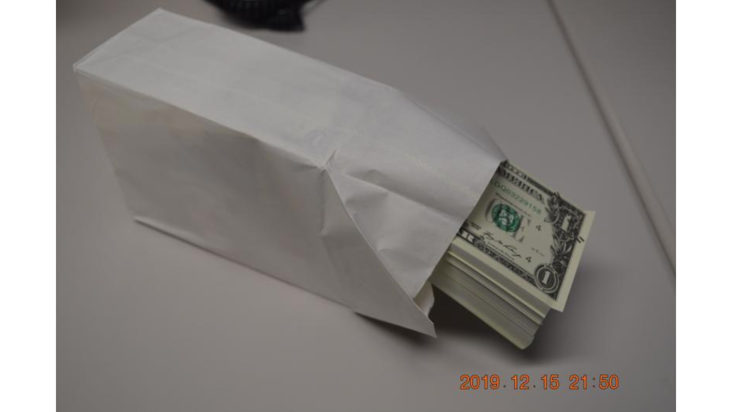 Customs police seized $900,000 in counterfeit money from a shipping container — all in $1 bills