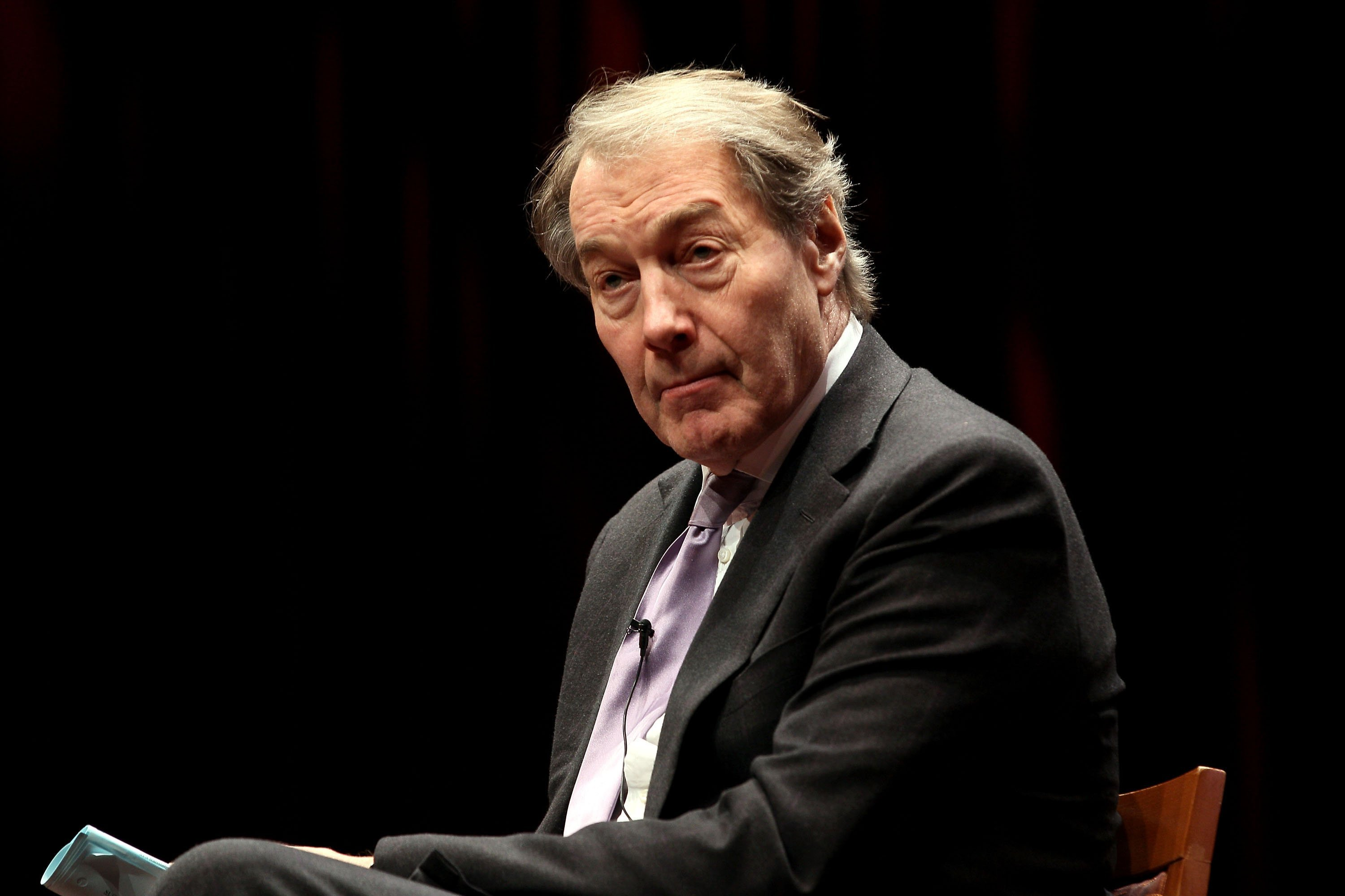 Charlie Rose sued for sexual harassment by former makeup artist