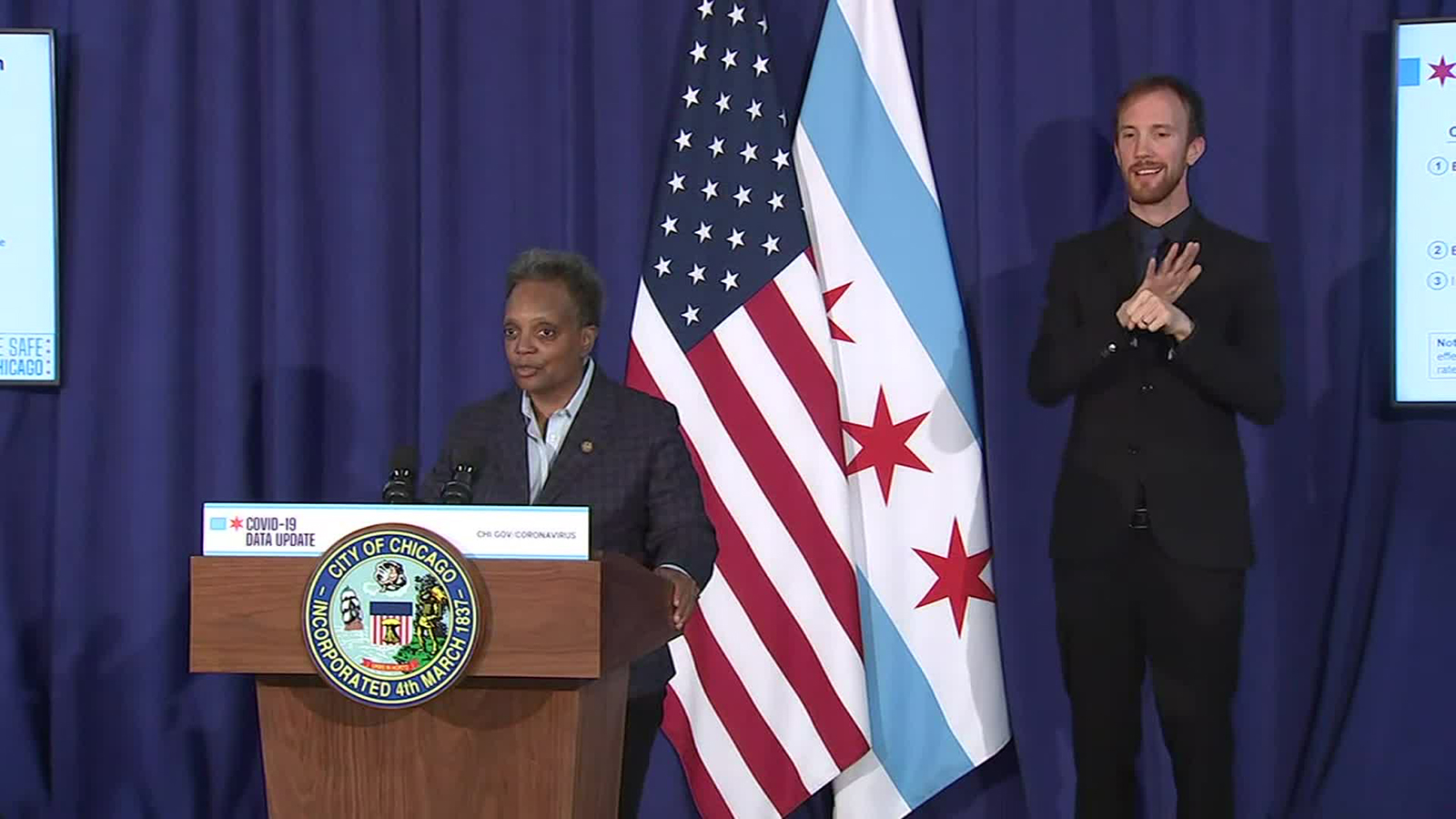 Chicago mayor unveils changes to search warrant policy in the fallout of a botched raid on social worker's home